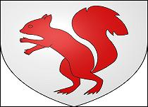 Qui avait un écureuil pour armes ?