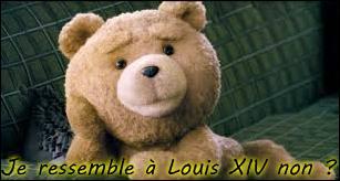 À présent, Ted se prend pour Louis XIV. À l'image d'un des plus grands monarques français, il dit être un ours de droit divin. Pourquoi cela ? Car s'il a ... vie, c'est grâce au vœu de John Bennett, un garçonnet solitaire.
