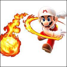Lequel de ces objets permet à Mario de cracher des boules de feu ?