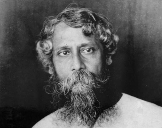 Né en 1861 à Calcutta, ce poète, écrivain, peintre et philosophe a reçu le prix Nobel de littérature en 1913. Il décède en 1941, il se nomme :