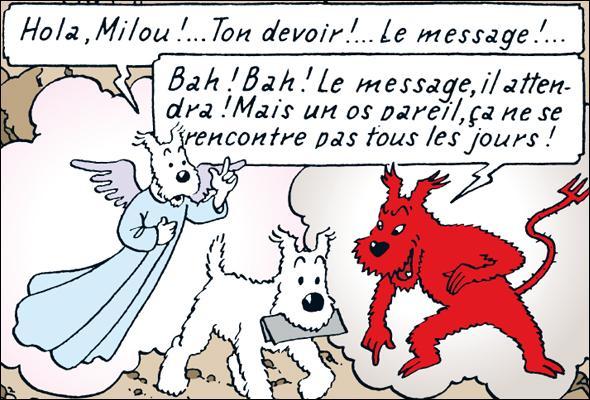Savez-vous de qui s'est inspiré Hergé pour donner son nom à Milou ?
