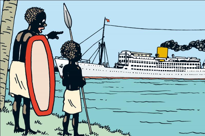 Quel est le nom de ce personnage qui apparaît dans Tintin au Congo ?
