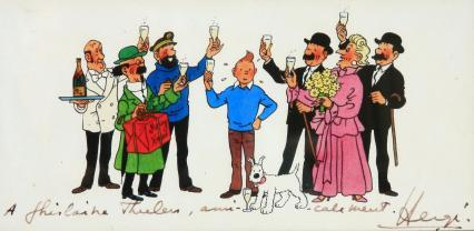 La bande à Tintin !