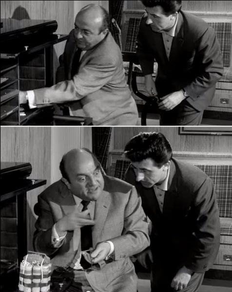 """Bon, là, c'est du très grand classique ! C'est même du grand Audiard ! Mais, quel est ce film ?""""Mais moi les dingues, j'les soigne, j'm'en vais lui faire une ordonnance, et une sévère, j'vais lui montrer qui c'est Raoul. Aux quatre coins d'Paris qu'on va l'retrouver, éparpillé par petits bouts façon puzzle... Moi, quand on m'en fait trop j'correctionne plus, j'dynamite, j'disperse, et j'ventile""""."""