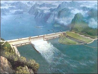 On l'appelle le barrage des trois gorges, c'est le plus grand barrage du monde, dans quel pays pouvez-vous le voir ?