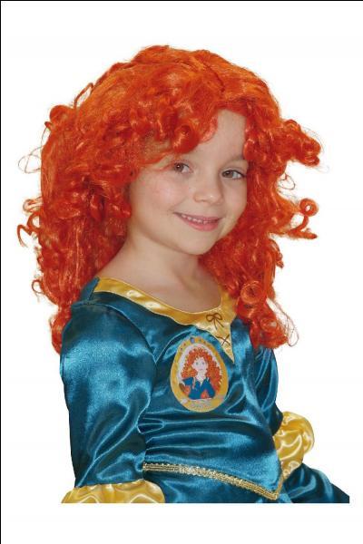 Cette demoiselle a l'air d'être une grande fan d'une princesse, laquelle ?
