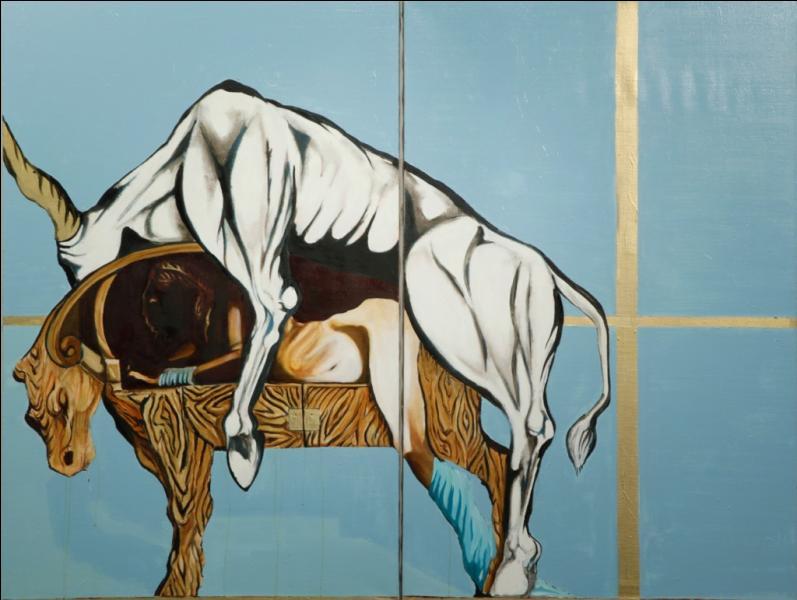 Quel personnage ingénieux fabriqua une vache en bois, pour que cette reine cède à cet amour incontrôlable ?