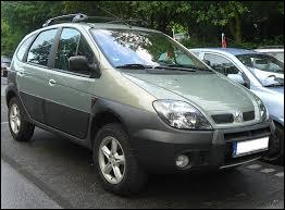Le Renault Scénic 1 en version 4X4 se nomme ...