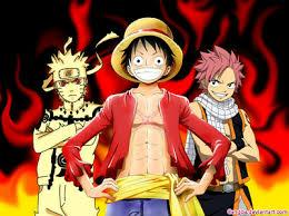 'Naruto', 'One Piece' ou 'Fairy Tail' ?