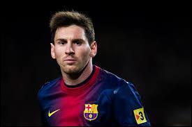 À quel poste Lionel Messi évolue-t-il ?