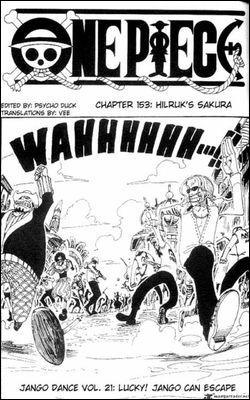 Chapitre 21 : Maintenant que les soldats de la marine sont occupés, que décide Jango ?