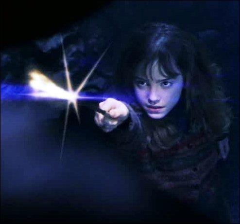 Quel est le sort que jette Hermione ?