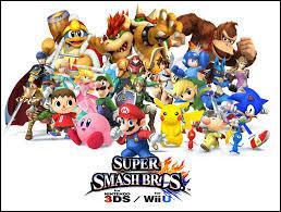 Quel jeu réunit tous ces personnages ?