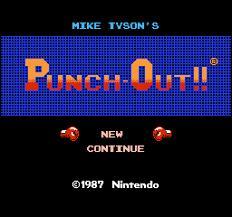 """En quelle année est sorti le jeu """"Punch-Out ! """" ?"""