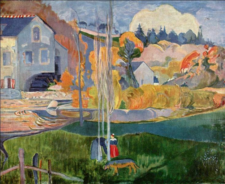 """En 1886, Gauguin effectue son premier séjour dans """"la cité des peintres"""", commune du Finistère. Vous pouvez déguster les galettes """"Traou-Mad"""" à..."""