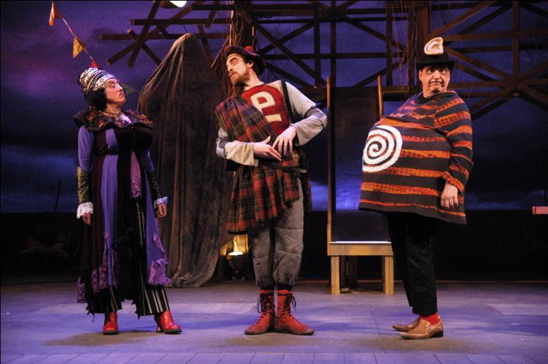"""Quelle oeuvre du Théâtre de l'absurde débute par ce simple mot : """"Merdre"""" ?"""