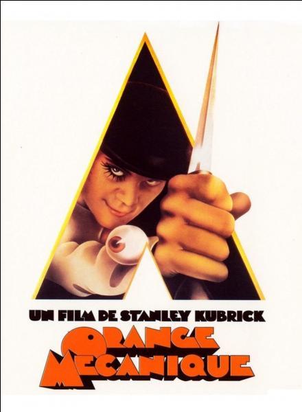 """Pour son film """"'Orange mécanique"""", Stanley Kubrick s'est inspiré du roman de l'écrivain britannique :"""