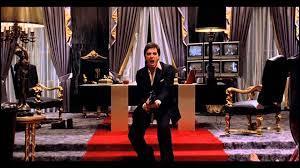 """Dans le film """"Scarface"""", que dit Tony Montana avant de tirer sur sa porte dans la scène finale ?"""