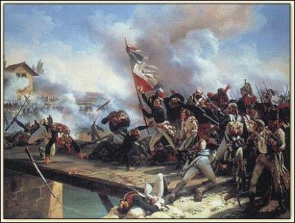 Cette bataille de Napoléon Bonaparte a lieu du 15 au 17 novembre 1796. Il s'agit de :