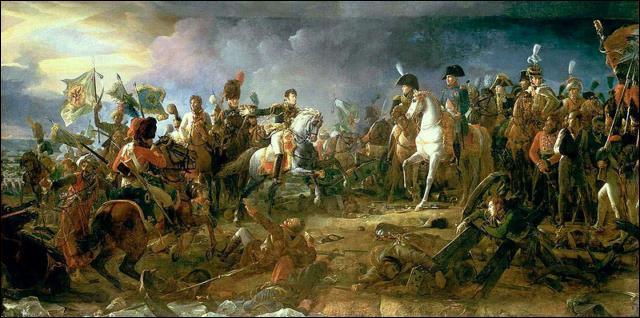 La Grande Armée de Napoléon Ier bat les forces austro-russes de l'empereur François Ier d'Autriche et du tsar Alexandre le 2 décembre 1805. C'est :