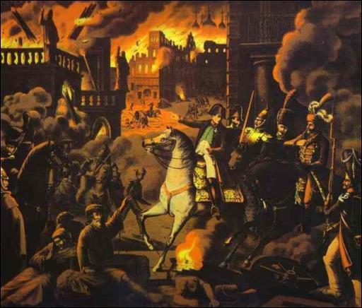 Napoléon ne peut pas conquérir cette ville car les habitants préfèrent la brûler plutôt que de l'abandonner aux soldats français. Il s'agit de :