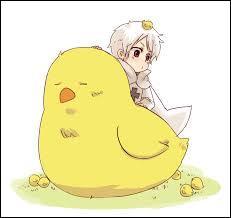 Comment s'appelle l'oiseau de Prussia ?