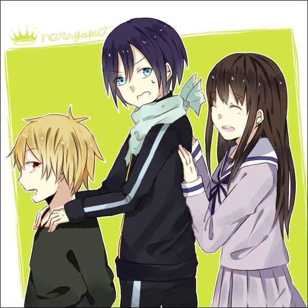 """De quelle couleur est le tome 1 du manga """"Noragami"""" ?"""