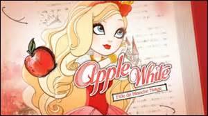 À qui Apple White offre-t-elle son cœur sincère ?