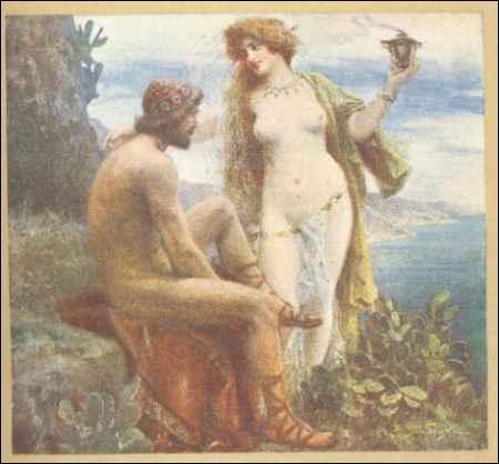 Comment s'appelle la nymphe qui a enfermé Ulysse pendant 7 ans ?