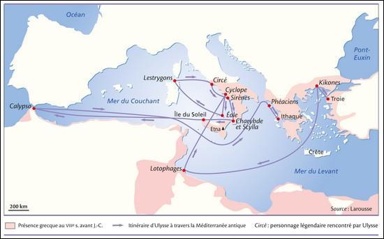 Au bout de combien de temps Ulysse rentre-t-il chez lui, à Ithaque ?