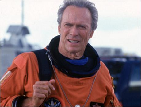 Dans quel film Clint Eastwood est-il astronaute ?
