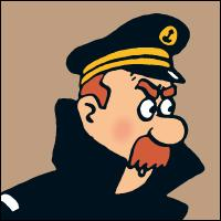 Dans quel pays le capitaine Haddock retrouve-t-il son vieil ami le capitaine Chester ?