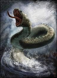Je suis un serpent géant. J'ai été tué par un dieu. Qui suis-je ?