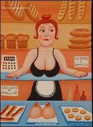 Comment appelle-t-on la marque laissée sur un pain qui en a touché un autre pendant la cuisson ?