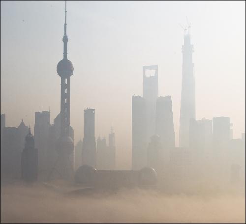 On dit que la pollution de Shanghai est responsable d'un tiers de la pollution d'une autre ville. Quelle est-elle ?