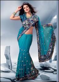 Quelle robe faite d'un seul morceau de tissu les femmes portent-elles en Inde ?