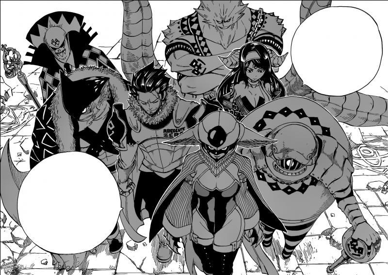 Quel est le but de la guilde noire des Tartaros ?