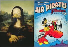 Trouve l'identité cachée, de l'univers Disney, de la Joconde !