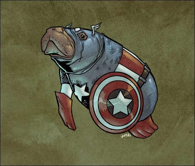 Trouve le héros ou l'héroïne correspondant à l'image !