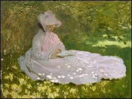 """""""La Liseuse"""" est un tableau peint par Claude Monet."""