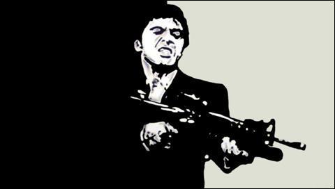 """""""Scarface"""" de Brian DePalma est, par rapport à """"Scarface"""" de Howard Hughs, un/une..."""