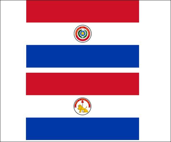 Quel est le seul pays dont le drapeau possède deux faces différentes ?