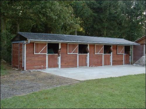 Quels sont ces logements pour chevaux ?