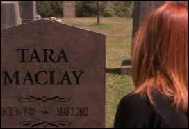 Quelle est la date de décès de Tara ?