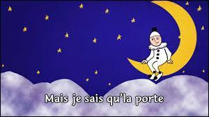 """Dans la chanson """"Au clair de la lune, mon ami Pierrot"""", pourquoi emprunterai-je sa plume ?"""