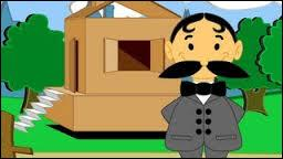 """""""Il était un petit homme. Pirouette, cacahuète. Il était un petit homme, qui avait une drôle de maison"""". En quoi est faite cette drôle de maison ?"""