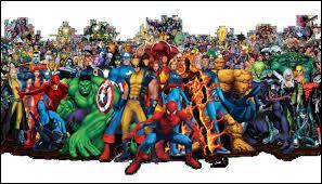 Quels sont les super-héros de l'équipe ?