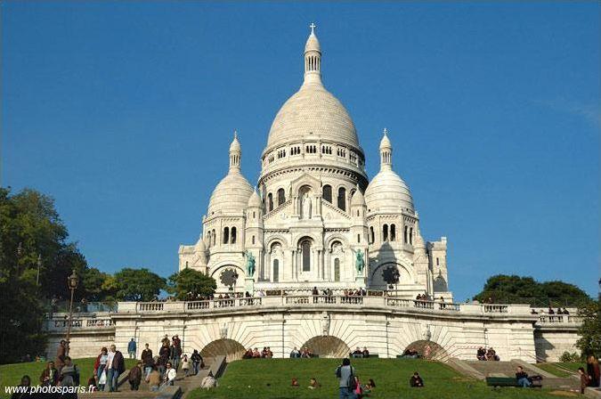 Les monuments et lieux de Paris