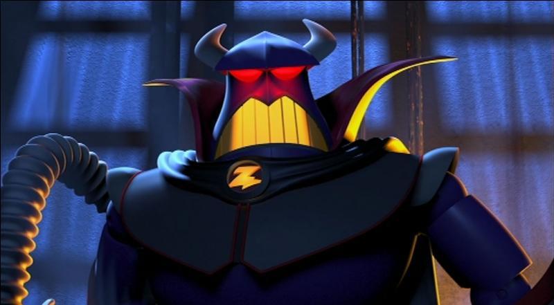 """Ce personnage est plus l'ennemi de Buzz que le méchant principal de """"Toy Story"""", en tout cas il s'appelle :"""