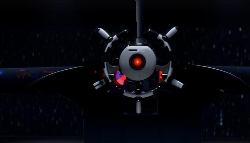 """Voici un personnage apparaissant dans """"Wall-E"""", il se nomme :"""